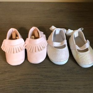 Other - Size 2, or 6-9 month baby girl shoes